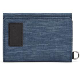 Pacsafe RFIDsafe Billetera de 3 Pliegues, dark denim